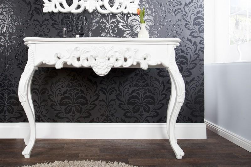 Barok Witte Sidetable.Karu Sidetable Barok Wit 110cm